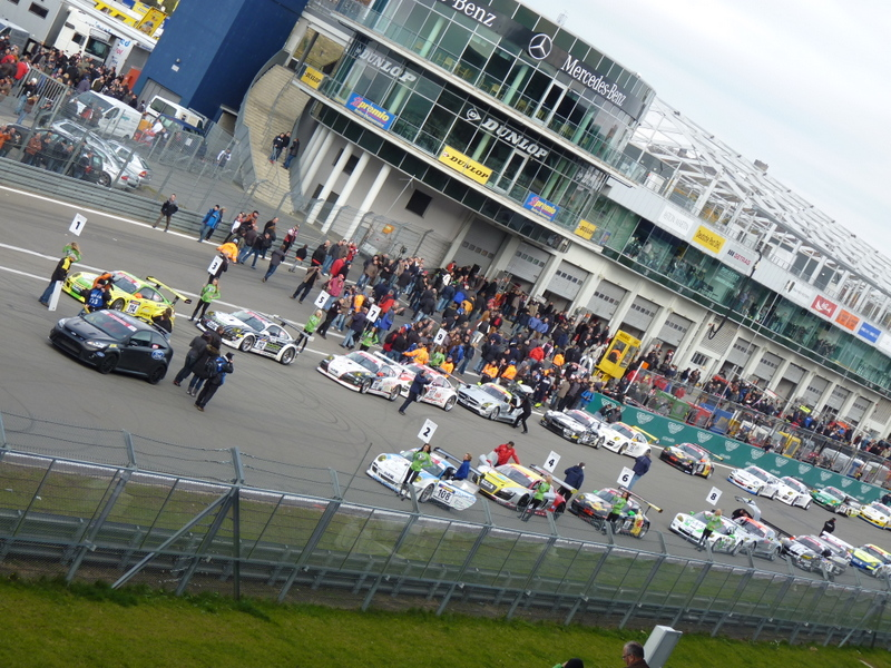 Nürburgring Startaufstellung