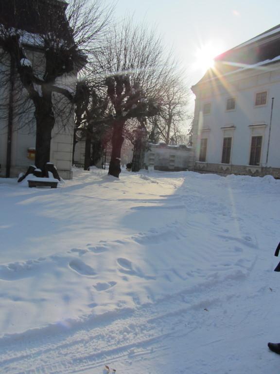 Gut Knappenstöckl am Neusiedler See. Eine romantische Auszeit im Winter