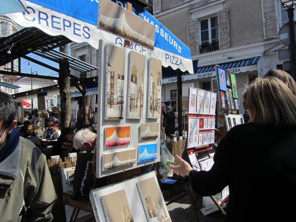 Künstlermarkt Paris