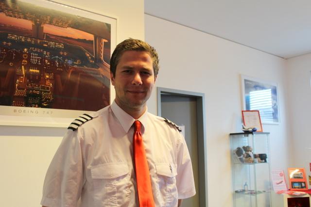 Ein Pilot / erster Offizier bei iPilot