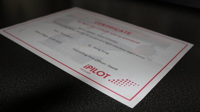 Zertifikat von iPilot