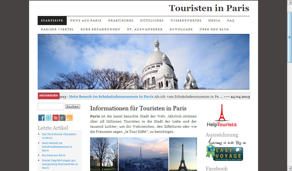 Paris für Touristen - Screenshot