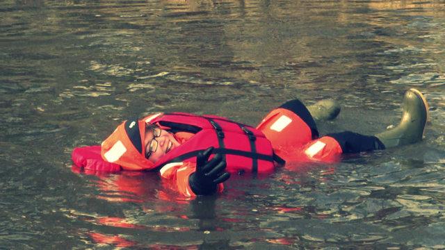 Riverfloating in Finnland