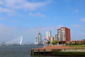 Skyline von Rotterdam