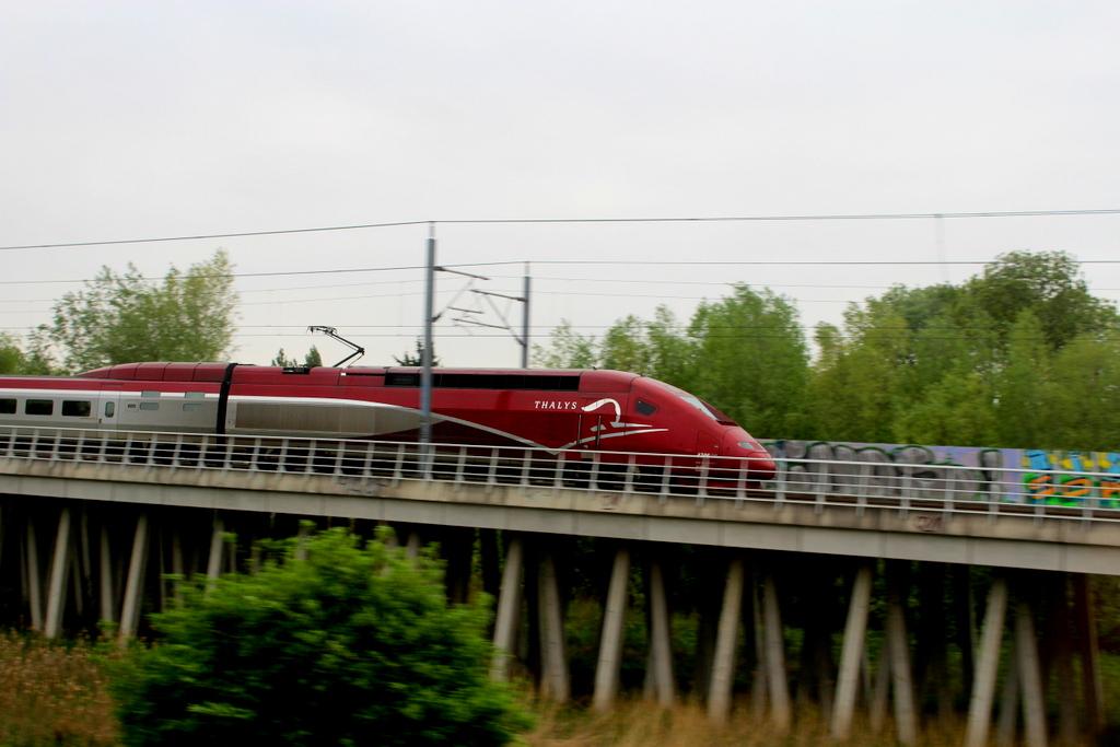 Mit dem Thalys von Köln nach Paris fahren - ein kulinarisches Erlebnis