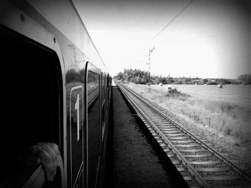 Mav Zugfahren in Ungarn