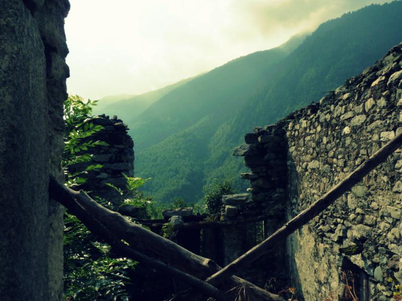 Bordo das buddistische Dorf