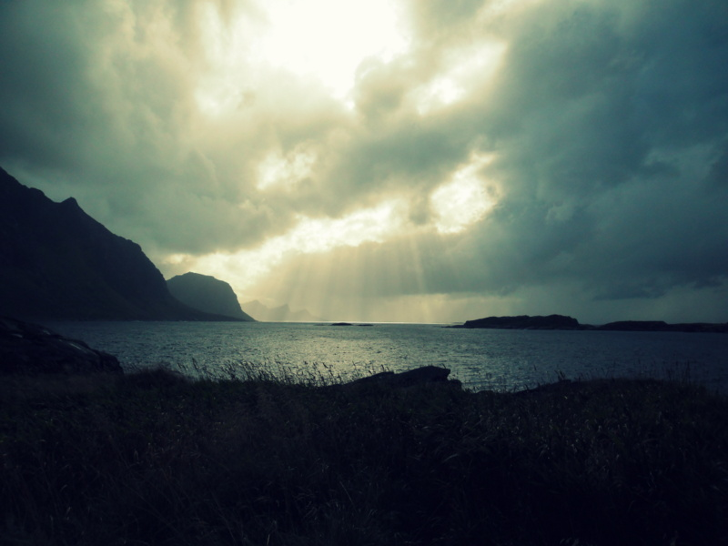 Lofoten Norwegen VerfahrenII-Bucht