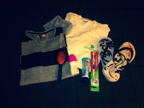 Mein Gepäck für La Gomera