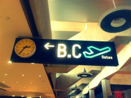 Flughafen Gate-Suche