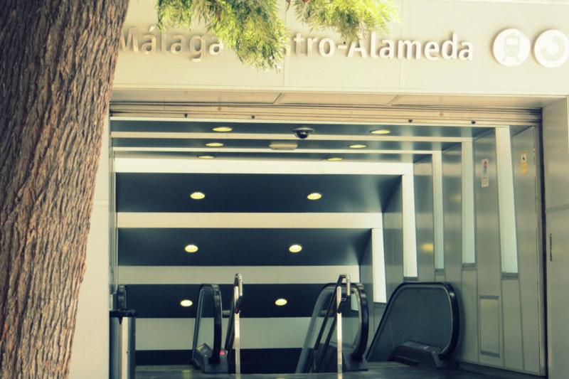 Malaga quer durch die Stadt