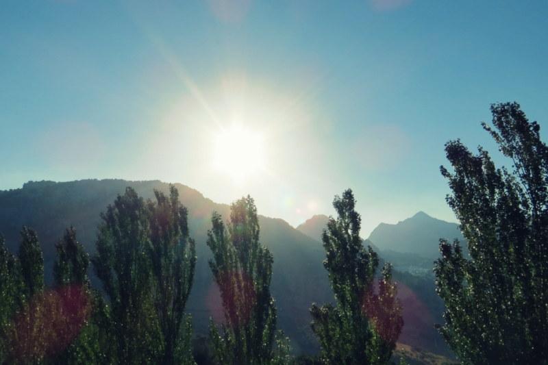 Sonne auf Singlereise