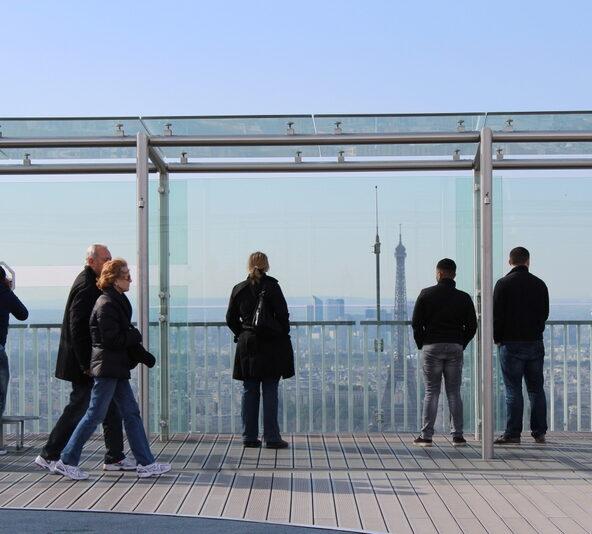Über den Dächern von Paris - Die Stadt der Liebe von oben erleben!