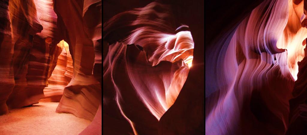 Wenn die Natur zum Künstler wird - Antelope Canyon, Page, Arizona
