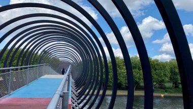 Erlebnisse in Oberhausen - Ein Spaziergang am Rhein-Herne-Kanal bis zum Zauberlehrling