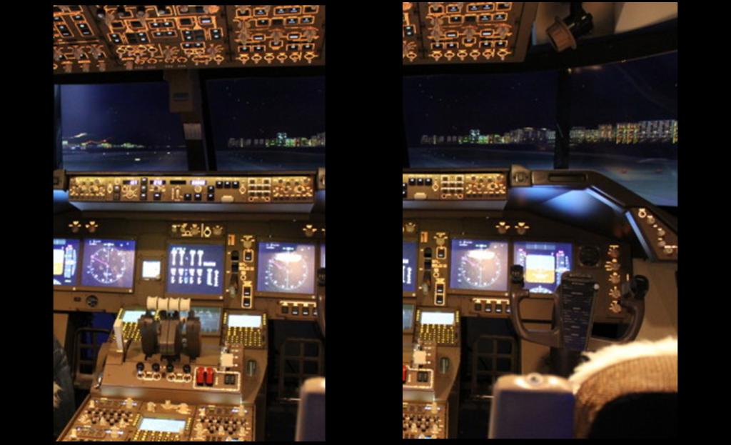 Bild Pilotentraining