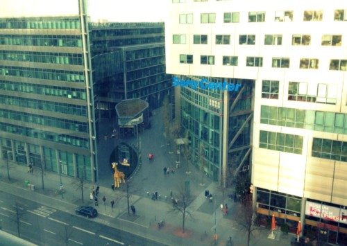 Blick aus dem Fenster vom The Mandala Hotel