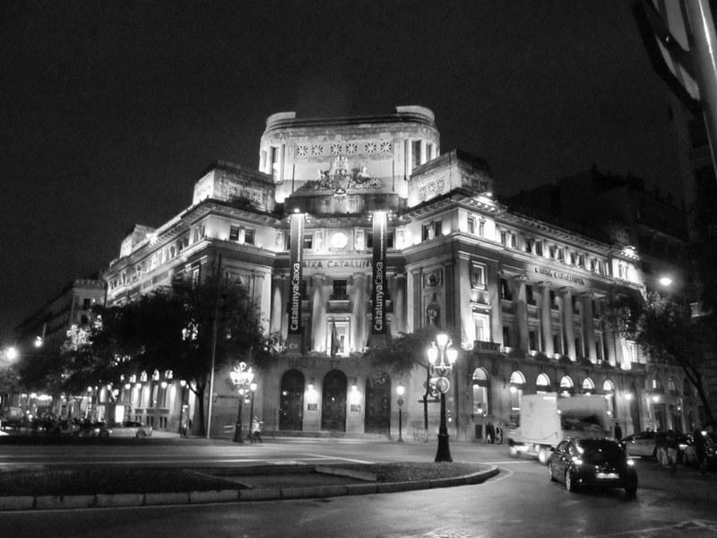 barcelona in schwarz - weiss - teilzeitreisender.de, Hause ideen