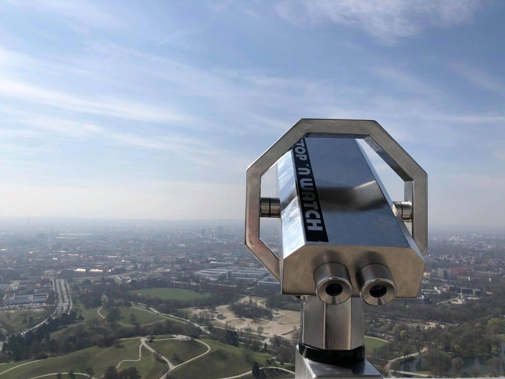 Olympiaturm Ausblick München