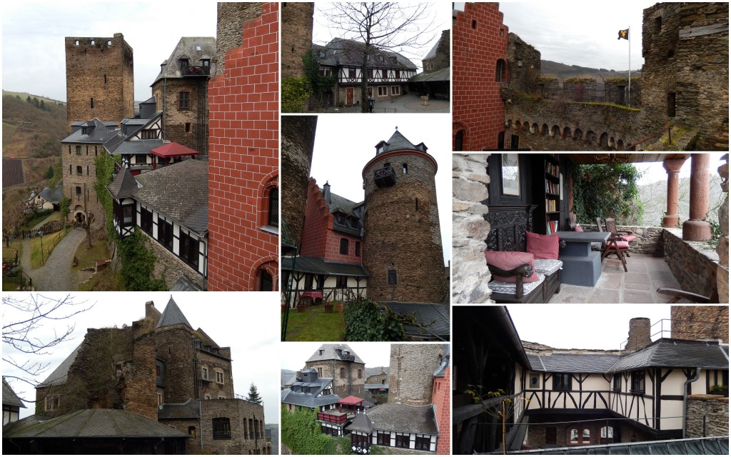 Collage 4 Burg Schönburg