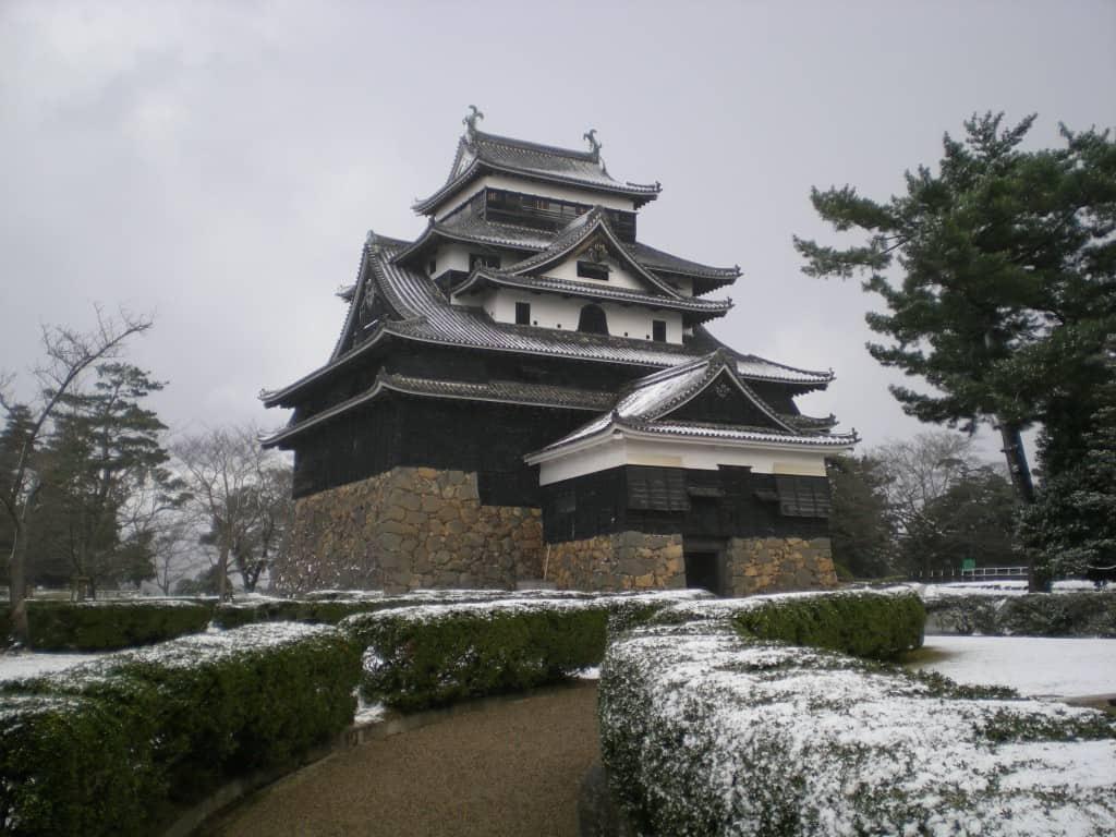 Matsue-jô Außenansicht