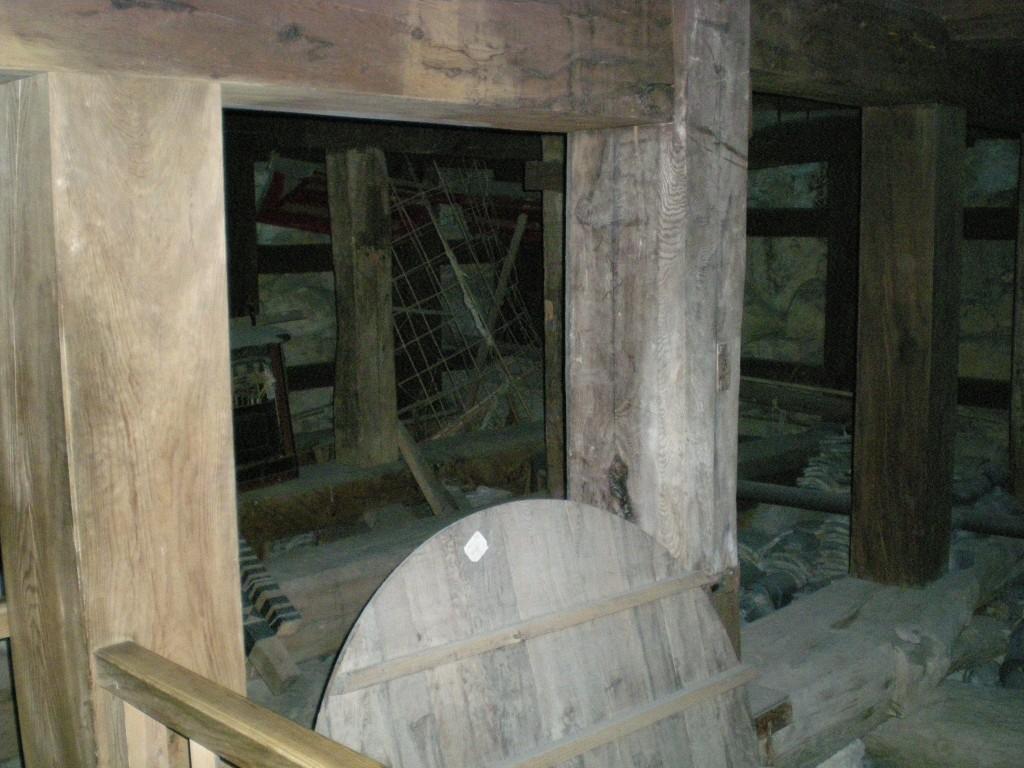 Beeindruckende Holzkonstruktionen im Matsue-jô
