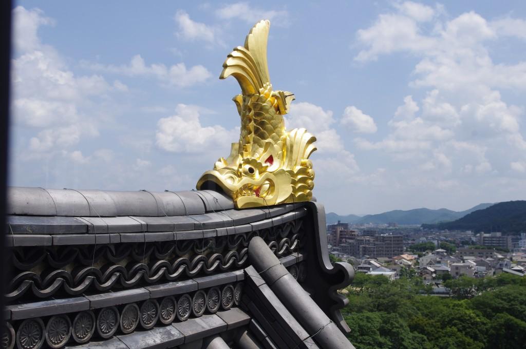 Blick von Okayama-jô