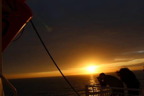 Sonnenuntergangsfeeling  King Seaways DFDS