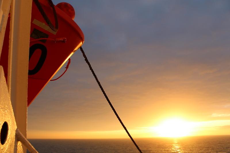 Rettungsboote King Seaways DFDS