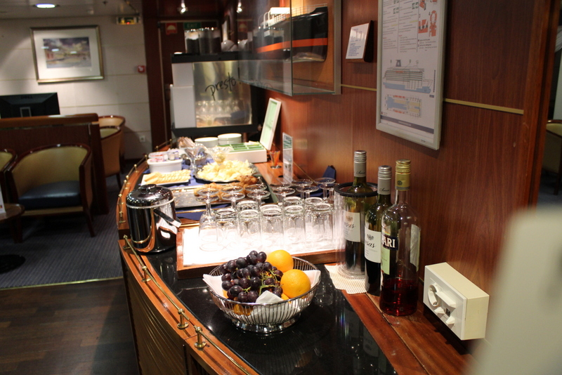 Lounge Commodore King Seaways DFDS