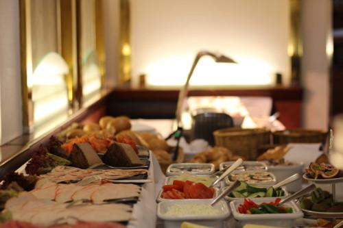 Frühstücksbuffet Morgenstimmung King Seaways DFDS