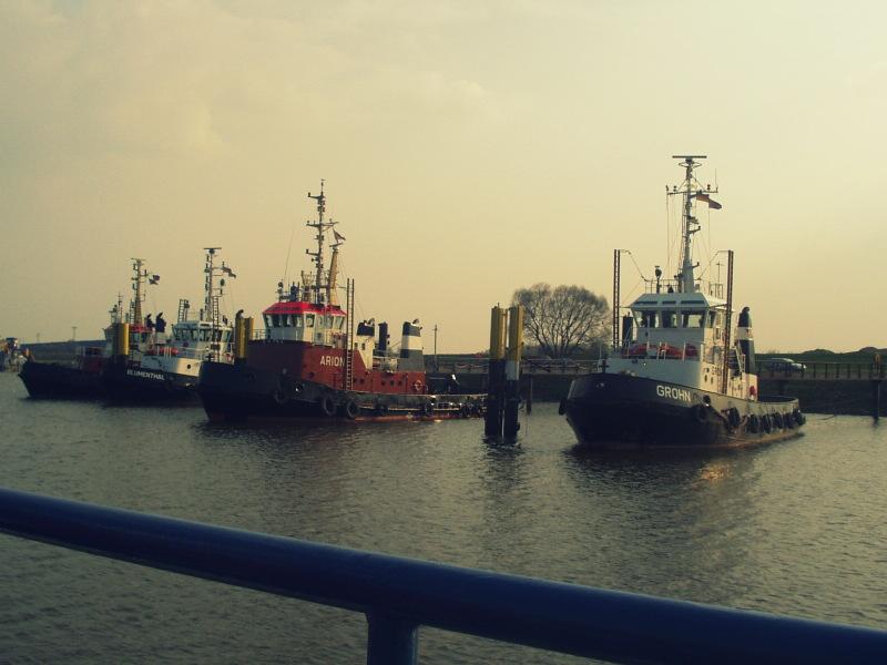 Eher Lust auf eine Rundfahrt auf der Weser ?