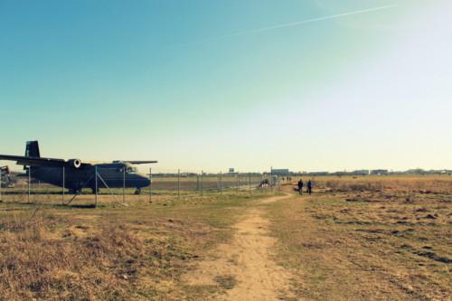 Tempelhofer Feld Spaziergang