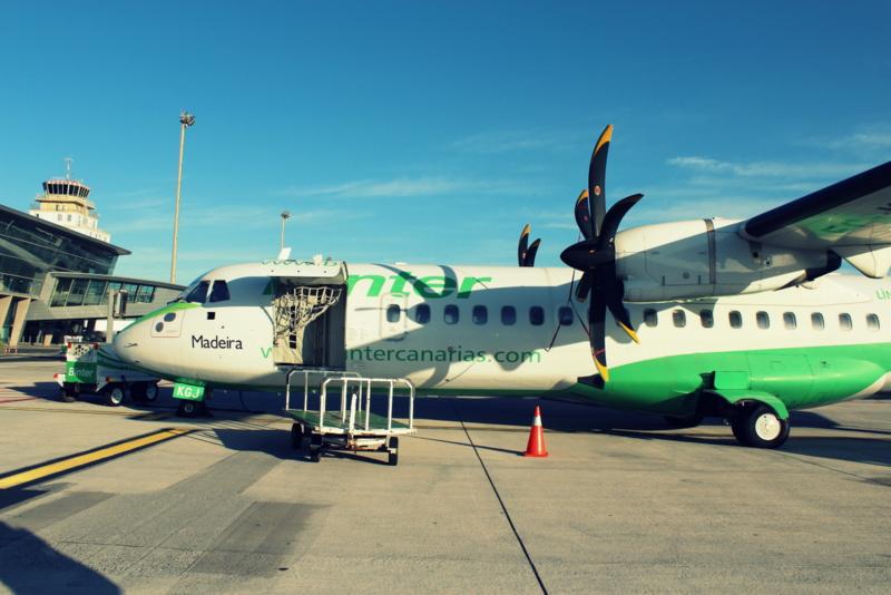 Inselhopping auf den Kanaren - Der Flughafen La Gomera
