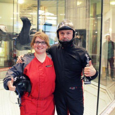 Mit 220 Sachen durch den Windkanal: meine ersten Indoor Skydiving Erfahrungen in Bottrop