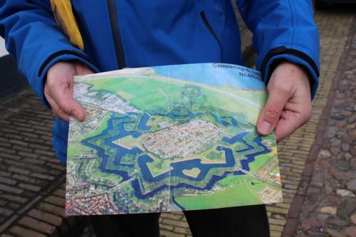 Karte von Naarden
