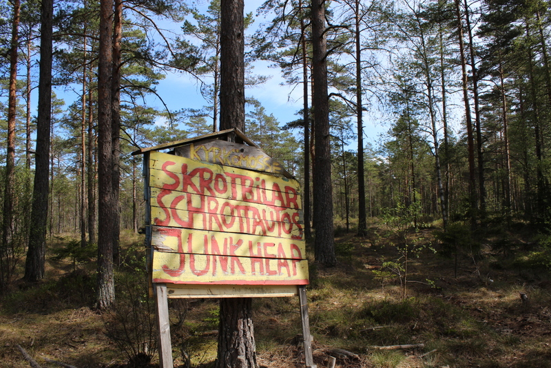 Bilkyrkogården in Kyrkö Mosse