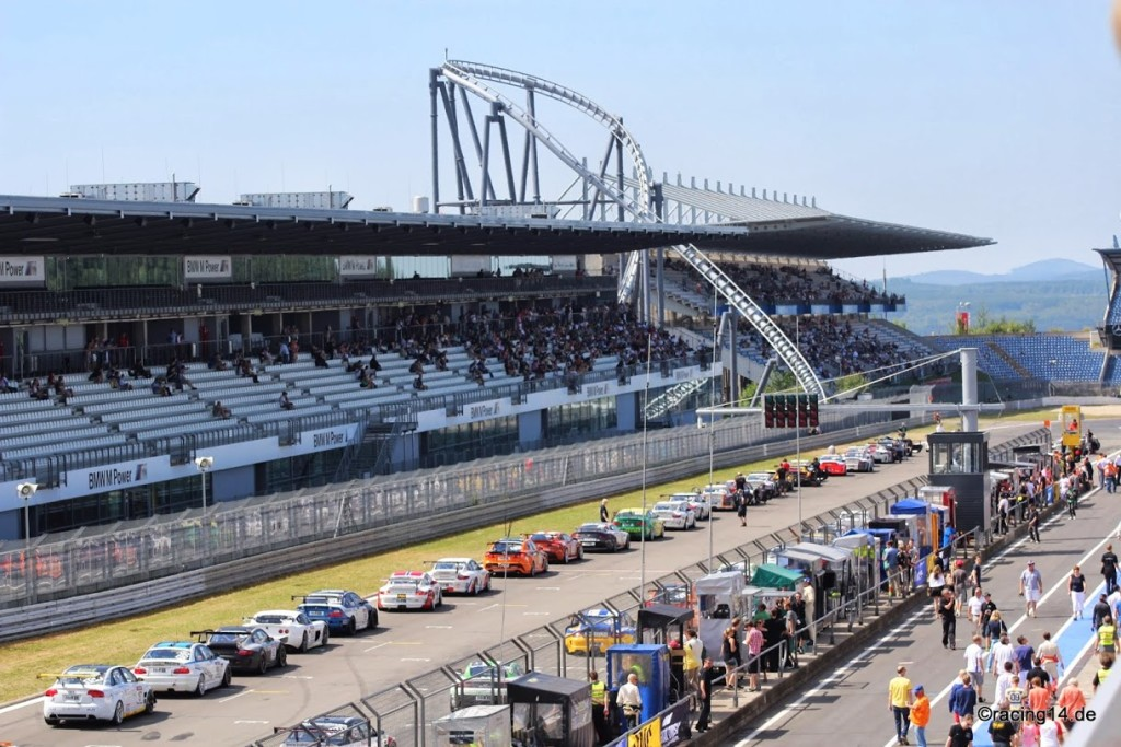 Startaufstellung Nürburgring (c) Racing14.de