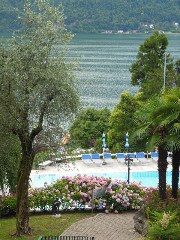 Urlaub am Luganer See: Von den Terassen der Vielfalt... im Parco San Marco Beach Resort