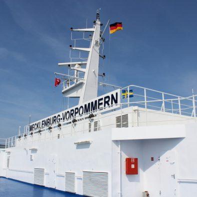 Mit der Fähre nach Schweden. Unterwegs von Rostock nach Trelleborg