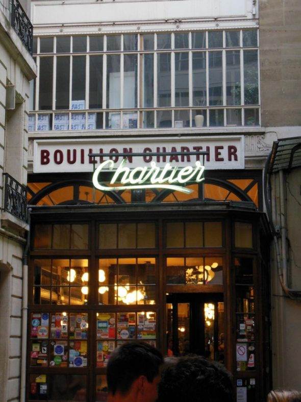 Traditionsrestaurant Chartier in Paris – Ein Tipp oder doch nicht ?