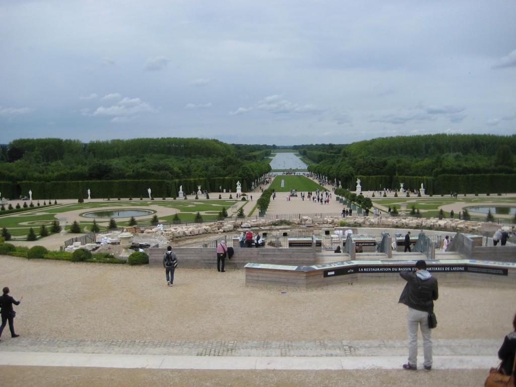 Versailles Aussicht