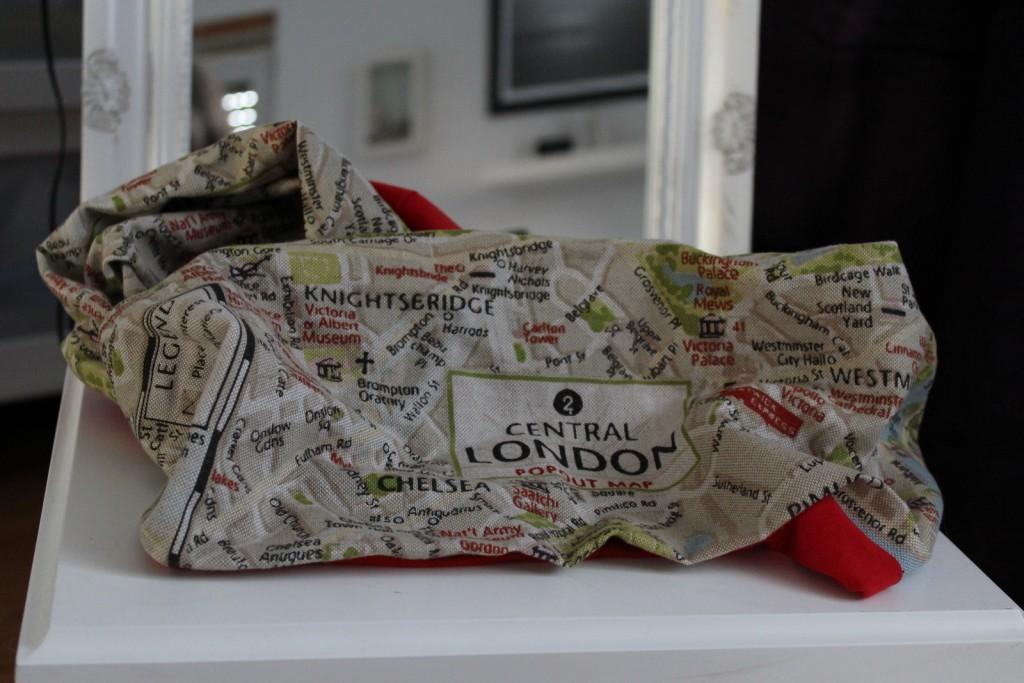 Janetts Challenge: Wie nähe ich einen Reiseblogger-Schal?