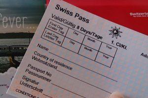 Schweiz Bahnfahren Swiss Pass