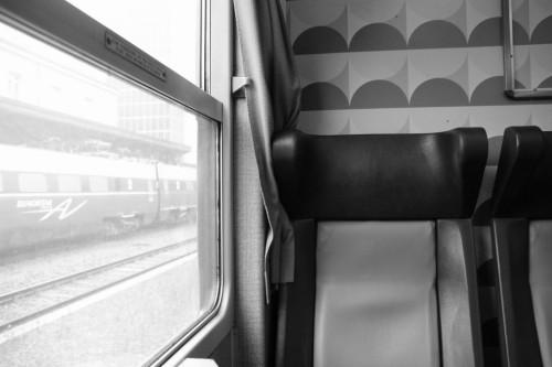 In einer Italienischen Bahn