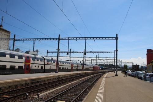 Schweiz Bahnfahren