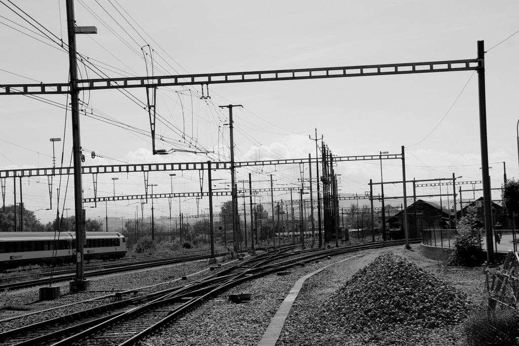 In Romanshorn am Bahnhof