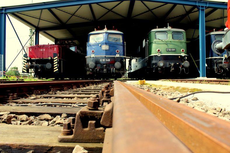 Das DB Museum Koblenz - Von den Ludolfs, einer Mitfahreisenbahn und dem Bad der Queen