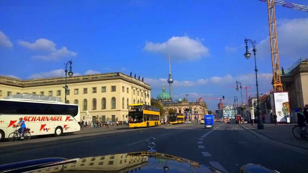 Durch die Innenstadt Berlin Cabrio