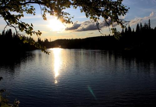 Sunset Lierne
